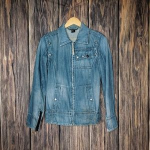DIESEL Women's Italian Denim Jacket / Vest Medium